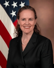 http://commons.wikimedia.org/wiki/File:Michele_Flournoy_official_portrait.jpg