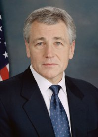 http://commons.wikimedia.org/wiki/File:Chuck_Hagel_official_photo.jpg